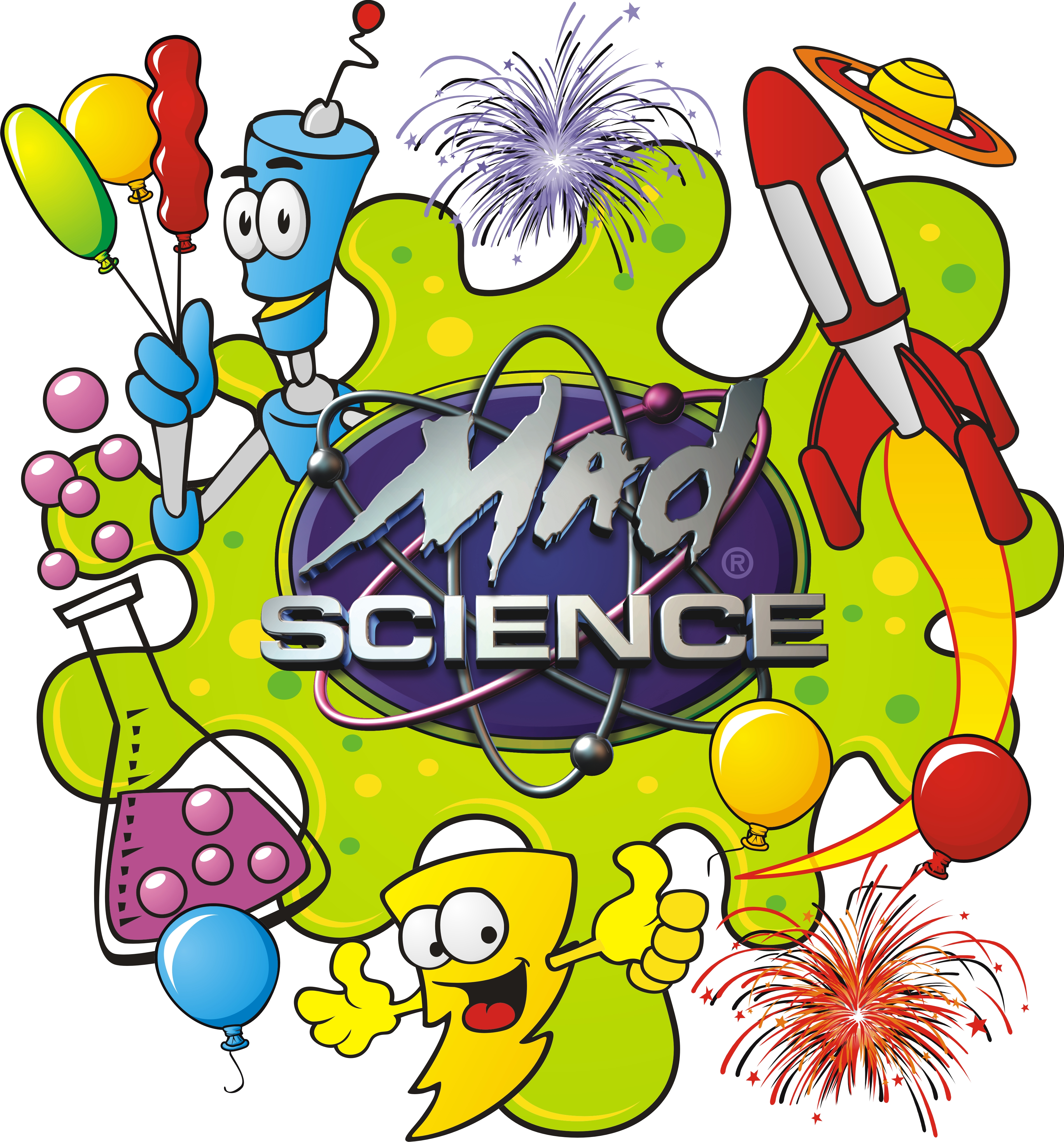 Mad Science Printable Invitations